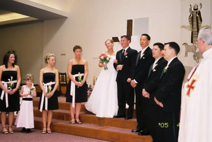 David & Jennifer Bridal Party 1